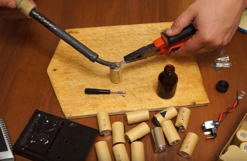 Аккумуляторы для шуруповертов своими руками видео 167