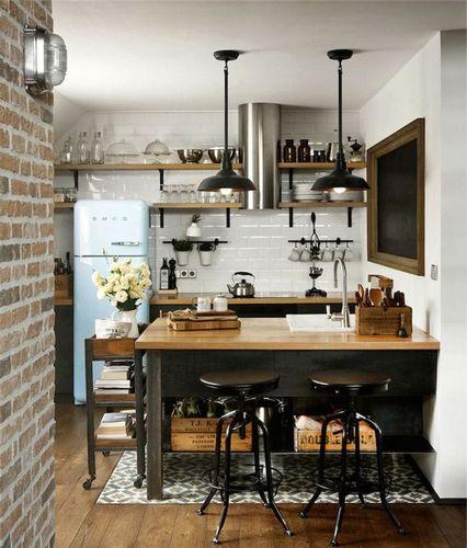Кухонная мебель в стиле лофт своими руками 54
