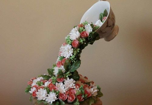 Своими руками цветы из кружки 91