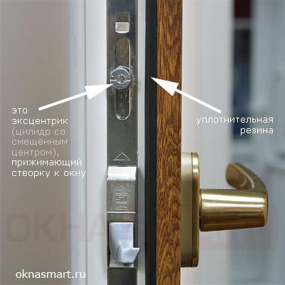регулировка балконной двери плотность прижима